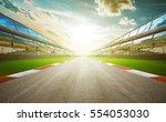 view of the infinity empty... | Shutterstock . vector #554053030