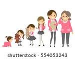 stickman illustration... | Shutterstock .eps vector #554053243