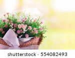 selective focus on some blossom ... | Shutterstock . vector #554082493