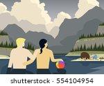 concept vector illustration of... | Shutterstock .eps vector #554104954