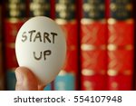 nurturing or incubator startup...   Shutterstock . vector #554107948