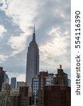new york city  usa. june 2016.... | Shutterstock . vector #554116390