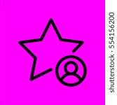 star icon flat design