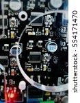 board chip   Shutterstock . vector #554171470