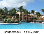 Small photo of LA ROMANA, DOMINICAN REPUBLIC - JANUARY 2, 2017: Iberostar Hacienda Dominicus all-inclusive resort in La Romana, Dominican Republic