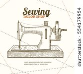 Sewing Machine Banner Card...