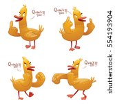 Vector Set Of Cartoon Images O...