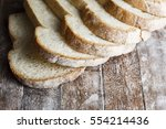 Fresh Baked Bread And Sliced...