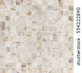 yellow white mosaic marble tile ...   Shutterstock . vector #554222890