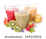 smoothie | Shutterstock . vector #554225023