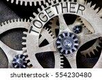 Macro Photo Of Tooth Wheel...