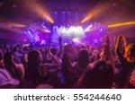blur club party | Shutterstock . vector #554244640