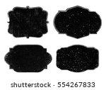 Stock vector vector vintage labels grunge badges and frames 554267833