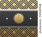 horizontal banner template on... | Shutterstock .eps vector #554269108