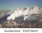 poor environment in the city.... | Shutterstock . vector #554270629