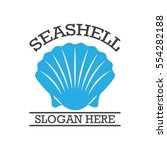 simple modern shell logo design | Shutterstock .eps vector #554282188