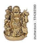 Statuette Of Hotei  Buddha  On...