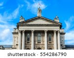 Small photo of Architectural building fragment of Original Tate Gallery, now renamed as Tate Britain (from 1897 - National Gallery of British Art). It is part of Tate network of galleries in England. London.