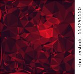 ruby stone background vector... | Shutterstock .eps vector #554295550