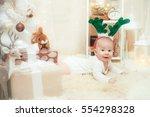 Christmas Deer Boy 5 Month