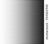 vector halftone dots  format... | Shutterstock .eps vector #554301940
