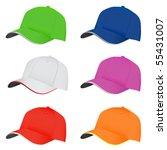 hat set | Shutterstock .eps vector #55431007