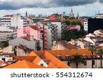 a view to lisbon city | Shutterstock . vector #554312674