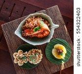 tom yum soup | Shutterstock . vector #554322403