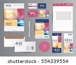 spa and yoga corporate identity.   Shutterstock .eps vector #554339554