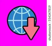 download icon flat design