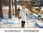 winter sport in finland  ... | Shutterstock . vector #554386828