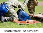 rescue emergency management... | Shutterstock . vector #554390524
