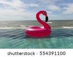 Air Flamingos Balloon Float In...