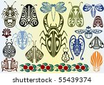 art nouveau insects