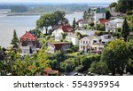 blankenese   part of hamburg... | Shutterstock . vector #554395954