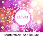 beautiful background for design ...   Shutterstock .eps vector #554401330