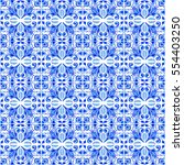seamless pattern with with... | Shutterstock . vector #554403250