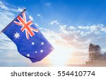 Australia flag national under...