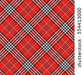 seamless tartan plaid pattern... | Shutterstock .eps vector #554413000