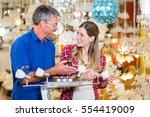 customer in electrical good... | Shutterstock . vector #554419009