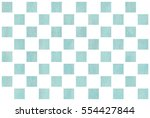 watercolor blue square... | Shutterstock . vector #554427844