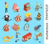 travel chapiteau circus classic ...   Shutterstock .eps vector #554476519
