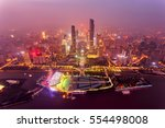 top view of the central... | Shutterstock . vector #554498008