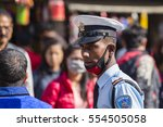 kathmandu  nepal   october 25 ...   Shutterstock . vector #554505058