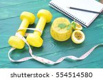 sport recording concept of... | Shutterstock . vector #554514580