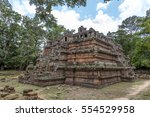 a view from the phimeanakas... | Shutterstock . vector #554529958