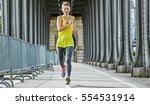 outdoors fitness in paris. full ...   Shutterstock . vector #554531914