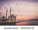 Birds And Sunrise At Ortakoy  ...