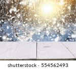 winter landscape.   Shutterstock . vector #554562493