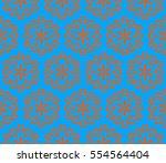 modern stylish texture....   Shutterstock . vector #554564404